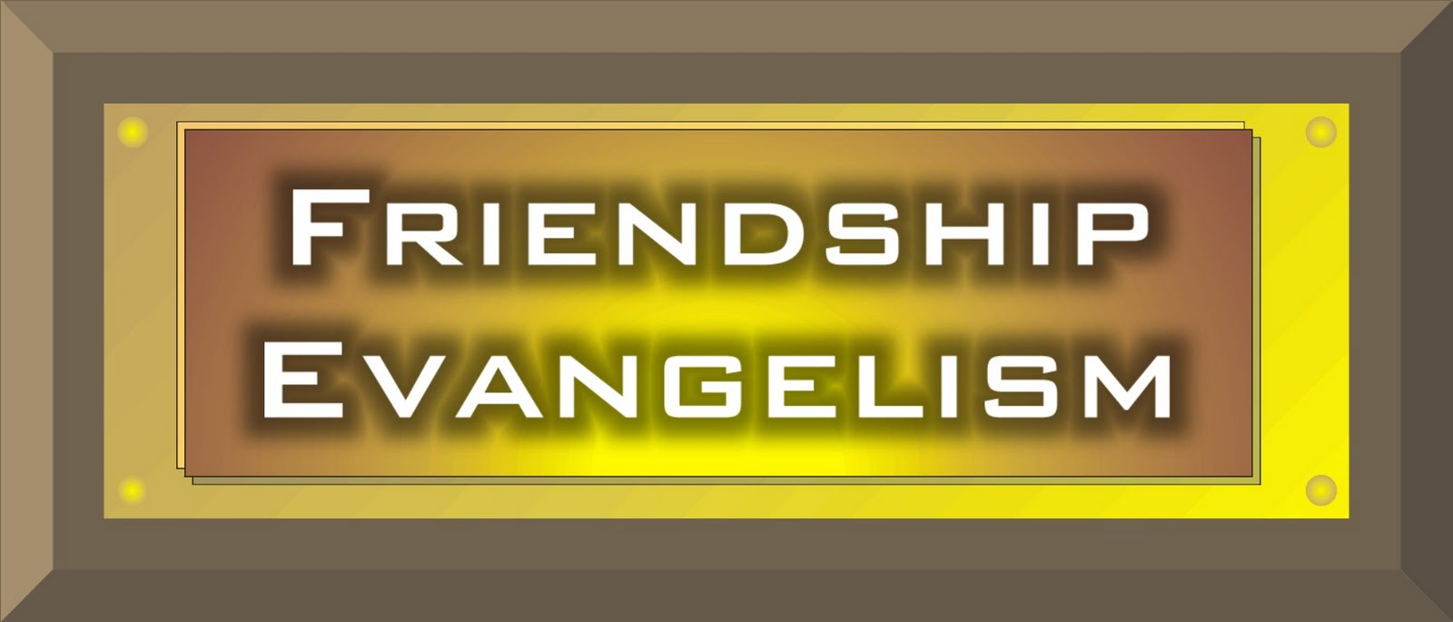 how did jesus approach evangelism In today's presentation of the gospel, jesus' death is primarily presented as a  ransom  at that point, we would have all gone to heaven because god could  not have  part of our approach must be to take the serious questions of life,  such as.