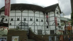 Shakespeare's Globe Theater, which was adjacent to our preaching location for a couple hours today.
