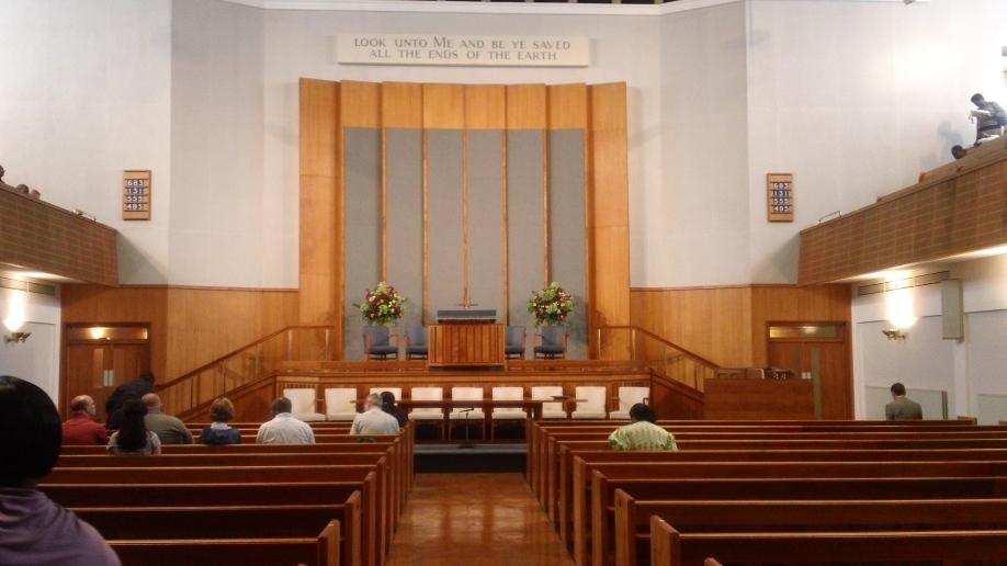 The Tabernacle sanctuary.
