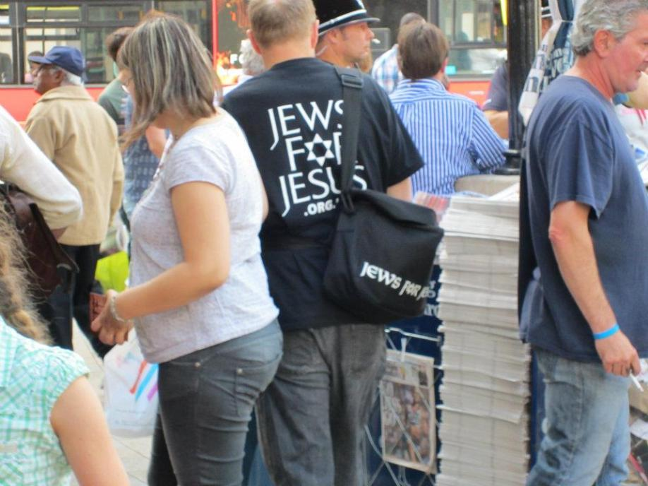 We saw many believers with Jews for Jesus throughout the week.