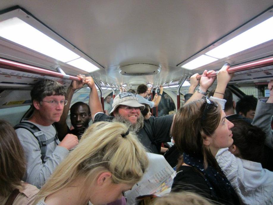 Stuffed on the tube!