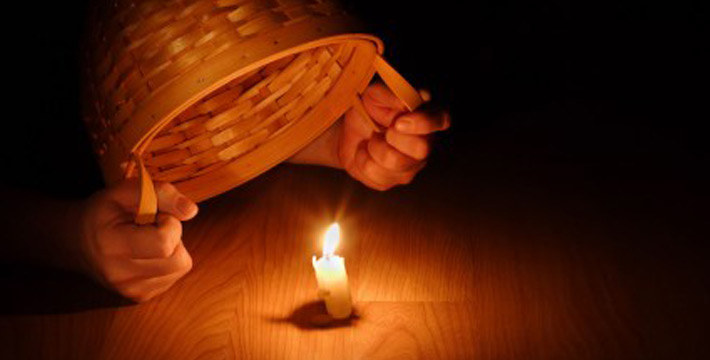 Christian you are the light of the world airo for Light a lamp and put it under a basket