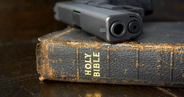 Image result for christian gun